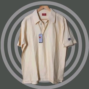 Wilson| Staff | short sleeve quality textured golf